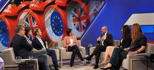 """""""Maischberger"""": Am Ende blamiert sich die EU-Kritikerin - WELT"""