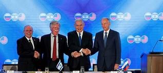 Historisches Sicherheitsberater-Treffen in Jerusalem