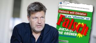 Die AfD sagt, Robert Habeck wünsche sich eine Diktatur - das steckt hinter der Behauptung