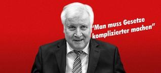 Diese Aussagen von Horst Seehofer zeigen eine gefährliche Verachtung der Demokratie
