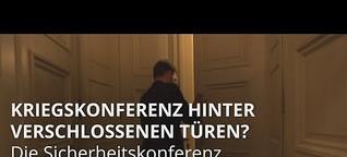 Siko München: Ist die Sicherheitskonferenz eine Kriegskonferenz? | BR24