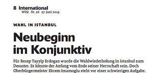 Wahl in Istanbul: Neubeginn im Konjunktiv