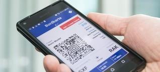 Akku leer, Handy verloren - und was ist mit dem Online-Ticket?