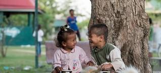 Wat Opot: eine Gemeinschaft für verwaiste, arme und HIV-infizierte Kinder