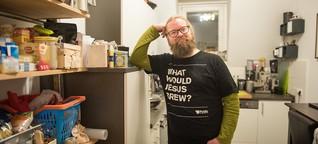 Der Hausbesuch: Er liebt Rock, gutes Essen und Gott