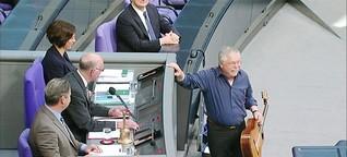 Als Lammert Biermann in den Bundestag holte