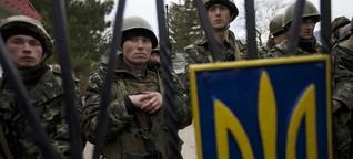 Blockade: Ukrainische Krim-Soldaten verfluchen ihr Schicksal