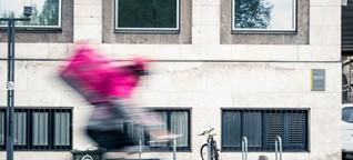 Fahrradkurier in Stuttgart: Liefern am Limit