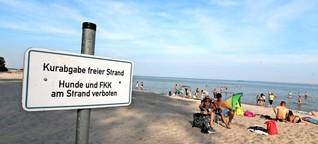 Wo es in Ostholstein kostenlos an den Strand geht