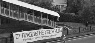 Vor der Wahrheit kann man nicht davonrennen - Moskauer Deutsche Zeitung