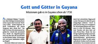 Gott und Götter in Guyana