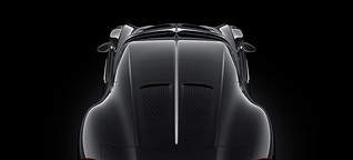 """Autosalon Genf : Der Bugatti """"La Voiture Noire"""" ist das teuerste Auto der Welt und schon verkauft"""