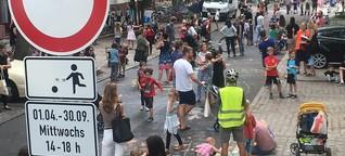 Erste temporäre Spielstraße in Berlin: Freies Spiel für freie Kinder