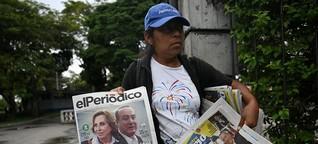 Flaue Wahlversprechen in Guatemala