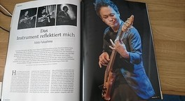 """Das Instrument reflektiert mich"" - Moto Fukushima"