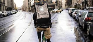Essenslieferanten nach Deliveroo-Aus: Strampeln für wenig Lohn