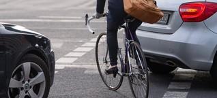 App zu Beinahe-Radunfällen: Berliner Radfahrer leben gefährlich