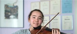 Die Geigerin und Oboistin Cecilia Kaiser ist ein Talent mit großen Zielen