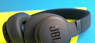 Kopfhörer mit ANC: JBL Live 650BTNC im Test