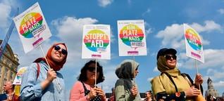 Demonstration der Vielen bei #unteilbar in Dresden | DW | 24.08.2019