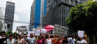 Brasilien: Zustimmung zu Bolsonaro sinkt, Demonstranten fordern seinen Rücktritt