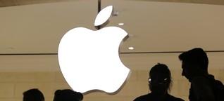 Apples Abhängigkeit von China hat seit 2015 zugenommen