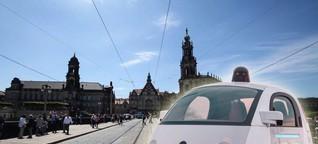 So soll das automatisierte Fahren in Dresden funktionieren