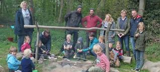 Aussenstelle von Kita Osdorf: Naturgruppe offiziell eröffnet