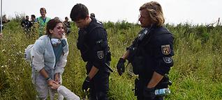 """""""Dass die Polizisten einfach abgehauen sind, war nicht cool"""""""