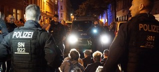 Wie eine Abschiebung auf der Leipziger Eisenbahnstraße eskalierte