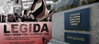 Sachsens Justiz findet keine klare Linie gegen Neonazis