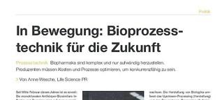 Bioprozesstechnik für die Zukunft