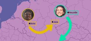 Umzug von West nach Ost oder umgekehrt: Das haben wir über Deutschland gelernt
