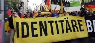"""Identitäre in Halle: """"Das heißt nichts anderes als Ausländer raus"""""""