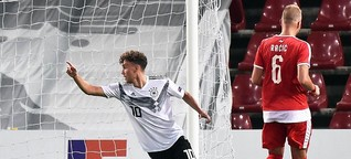 U21-Nationalspieler Luca Waldschmidt: Zum Horst gemacht