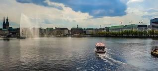Hamburg - ganz nah am Wasser gebaut