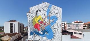 Portugal - Städte entdecken die Streetart