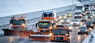 Schnee in Bayern: Wie arbeitet der Winterdienst?