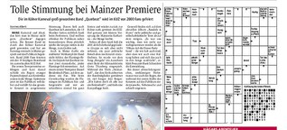 Tolle Stimmung bei Mainzer Premiere