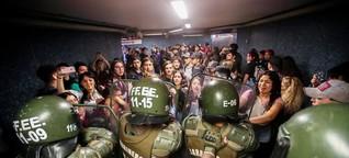 Chile: Straßenkampf um ein paar Cent