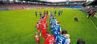 1. FC Union und Hertha BSC - so nah und doch so fern