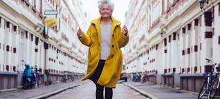 Youtube-Star Greta Silver spricht über das Glück im Alter