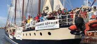 Klimaaktivistin aus Hessen segelt zum Weltklimagipfel
