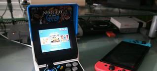 Retro-Konsole Neo Geo Mini im Test: Spielhallen-Flair deluxe