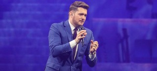 Intime Momente: Michael Bublé in der Tui-Arena