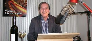 Tom Hanks' Synchronsprecher Arne Elsholtz, die Stimme der Sympathieträger
