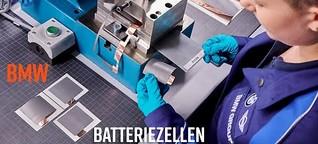 BMW erforscht Batteriezelle für kommende E-Autos