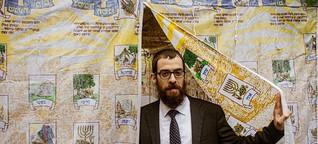 """Laubhüttenfest in der jüdischen Gemeinde Hamburg: """"Ich möchte meine Religionsfreiheit ausleben können, ohne um mein Leben zu fürchten"""" - SPIEGEL ONLINE - Politik"""