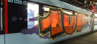 Wuppertal: Das steckt hinter der Schwebebahn-Graffiti-Attacke