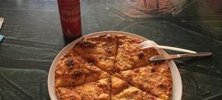 Ich zog los, um Deutschlands vielleicht ekligste Pizza zu essen